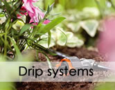 Application fields. Drip systems